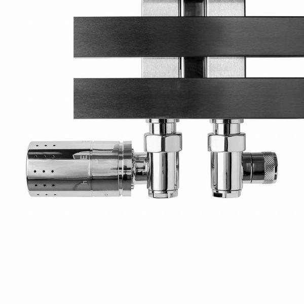 T036CHL / T036CHR - Thermostatisches Set für Mischbetrieb Chrom (links/rechts)