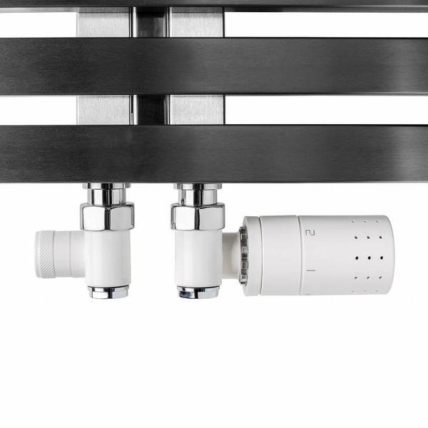 T035WL / T035WR - Thermostatisches Set für Mischbetrieb Weiß (links/rechts)
