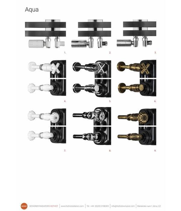 HOTHOT AQUA II. - elegante Glieder-Heizkörper