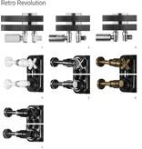 HOTHOT RETRO REVOLUTION FT III - dreireihiger horizontaler Spiral-Heizkörper aus Stahl