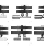 HOTHOT ZEN TWIN - Radiateur vertical forte puissance