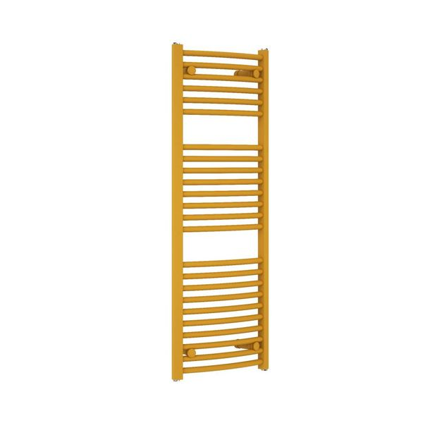 CORAL ROUND - Curved Dual Fuel Towel Rail