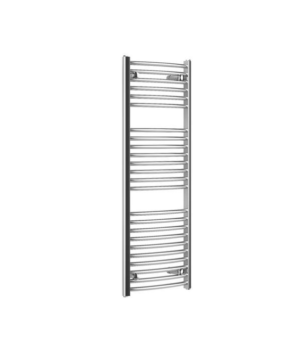 HOTHOT CORAL ROUND  CHROME - Curved Heated Towel Rail