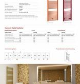 HOTHOT CORAL - radiateur sèche-serviette pour chauffage mixte
