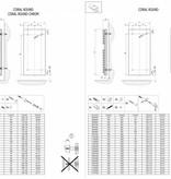 HOTHOT CORAL ROUND - Sèche-serviettes tubes ronds