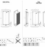 HOTHOT GRAND VERTICAL - Mittelanschluss Vertikaler Heizkörper