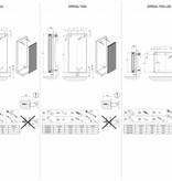 HOTHOT Imperial - Vertikaler Heizkörper mit Mittelanschluss