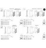 HOTHOT IMPERIAL BATH  CHROME- Sèche-Serviettes Radiateur Électrique Design Acier Chromé
