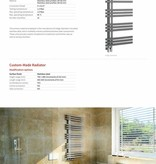 HOTHOT INDIGO STAINLESS - Sèche-serviette électrique en inox - Radiateur design contemporain