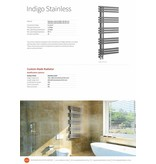 HOTHOT INDIGO STAINLESS - Badheizkörper aus gebürstetem Edelstahl