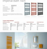 HOTHOT IMPERIAL BATH ROUND  - Central heating Towel Radiator