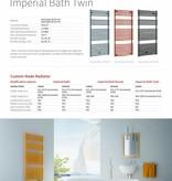 HOTHOT IMPERIAL BATH ROUND - Sèche-serviette design chauffage central