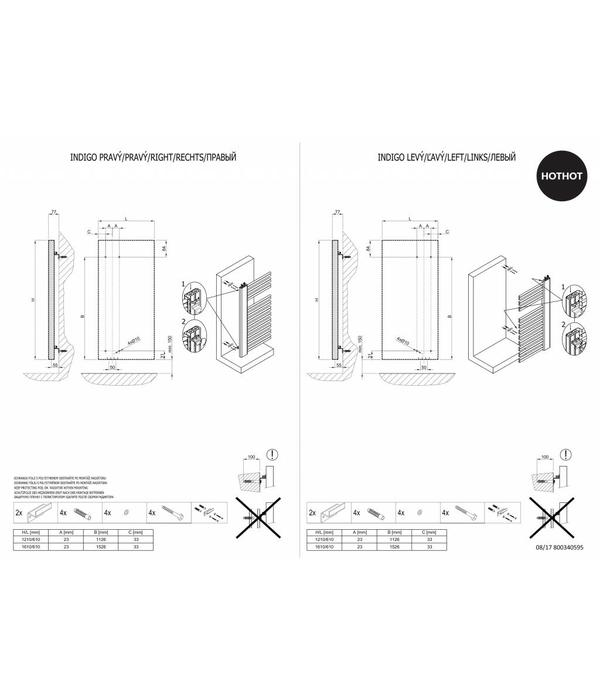 HOTHOT INDIGO - Radiateur design chauffage mixte