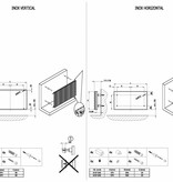 HOTHOT INOX HORIZONTAL - Impressive stainless steel radiator