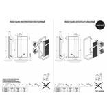 HOTHOT INDIGO SQUARE - Design- Badheizkörper Elektrisch