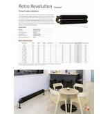 HOTHOT RETRO REVOLUTION WR - einreihiger Wandheizkörper im Retro-Look