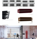 HOTHOT RETRO REVOLUTION FT II - Finned tubes radiator The steel radiator made for floor mounting -  with high heat output