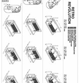 HOTHOT RETRO REVOLUTION FO II - zweireihiger horizontaler Rippenrohrheizkörper