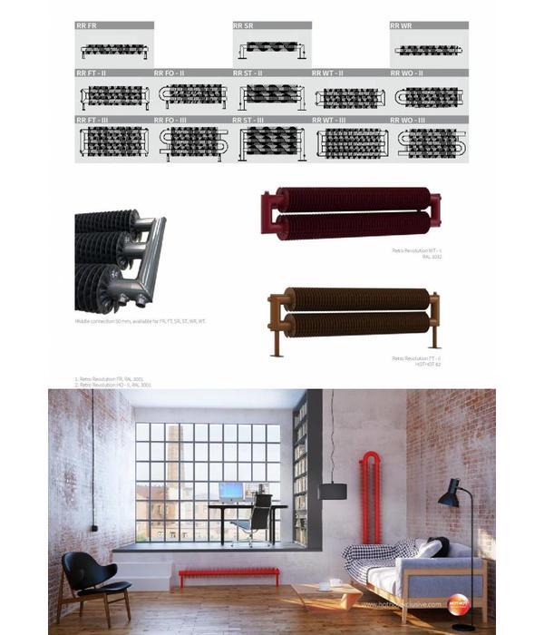 HOTHOT RETRO REVOLUTION FO III - floor standing industrial radiator