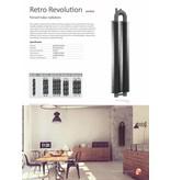 HOTHOT RETRO REVOLUTION HT II - Grand radiateur avec raccordement central de 500mm