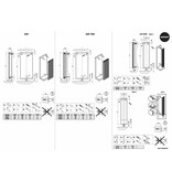 HOTHOT RUBY - Vertical Central Heating Radiator