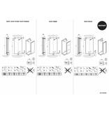 HOTHOT VELVET STAINLESS - Radiateur vertical en INOX