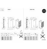 HOTHOT ZEN BATH -  Central Heating System Towel Rail with high BTU