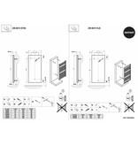 HOTHOT ZEN BATH EXTRA - Designer Towel Rails HOTHOT