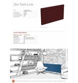 HOTHOT ZEN TWIN Line - Moderner Design-Heizkörper Horizontal