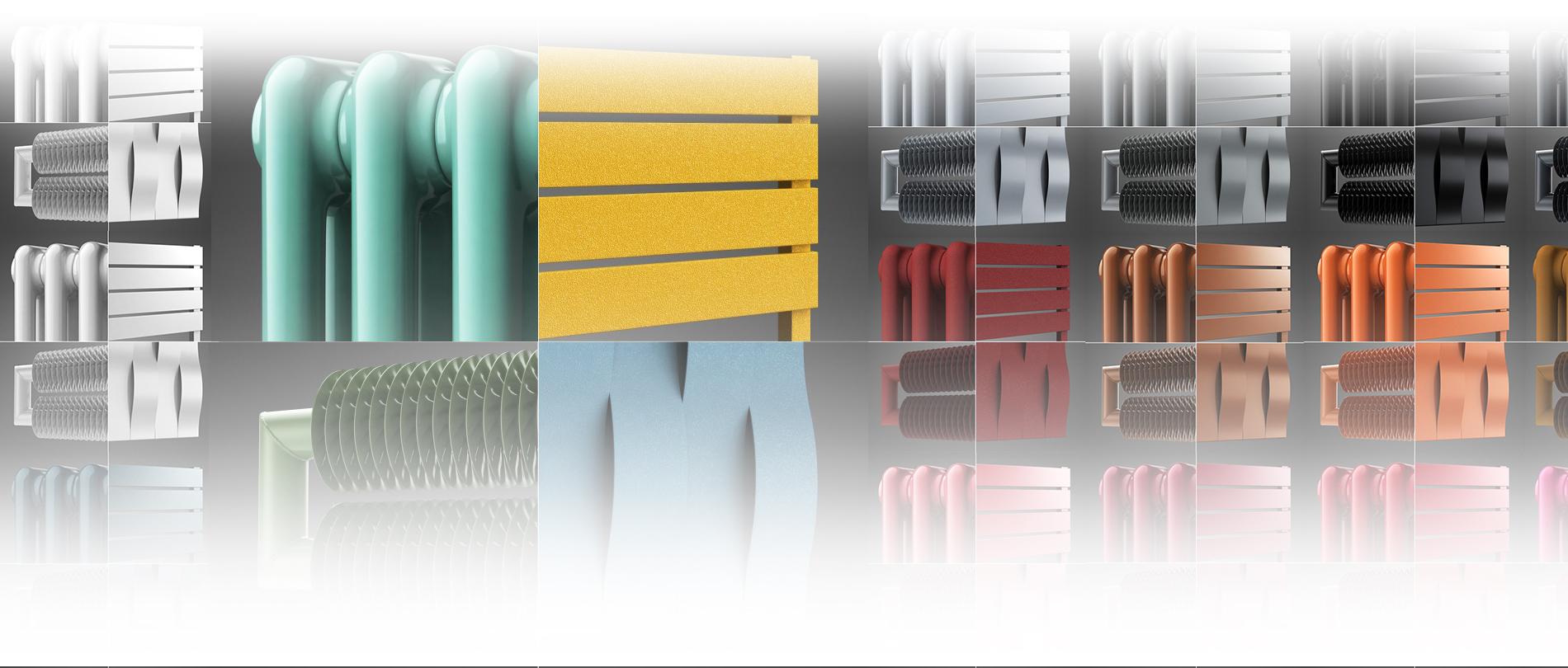 Coloured Designer Radiators