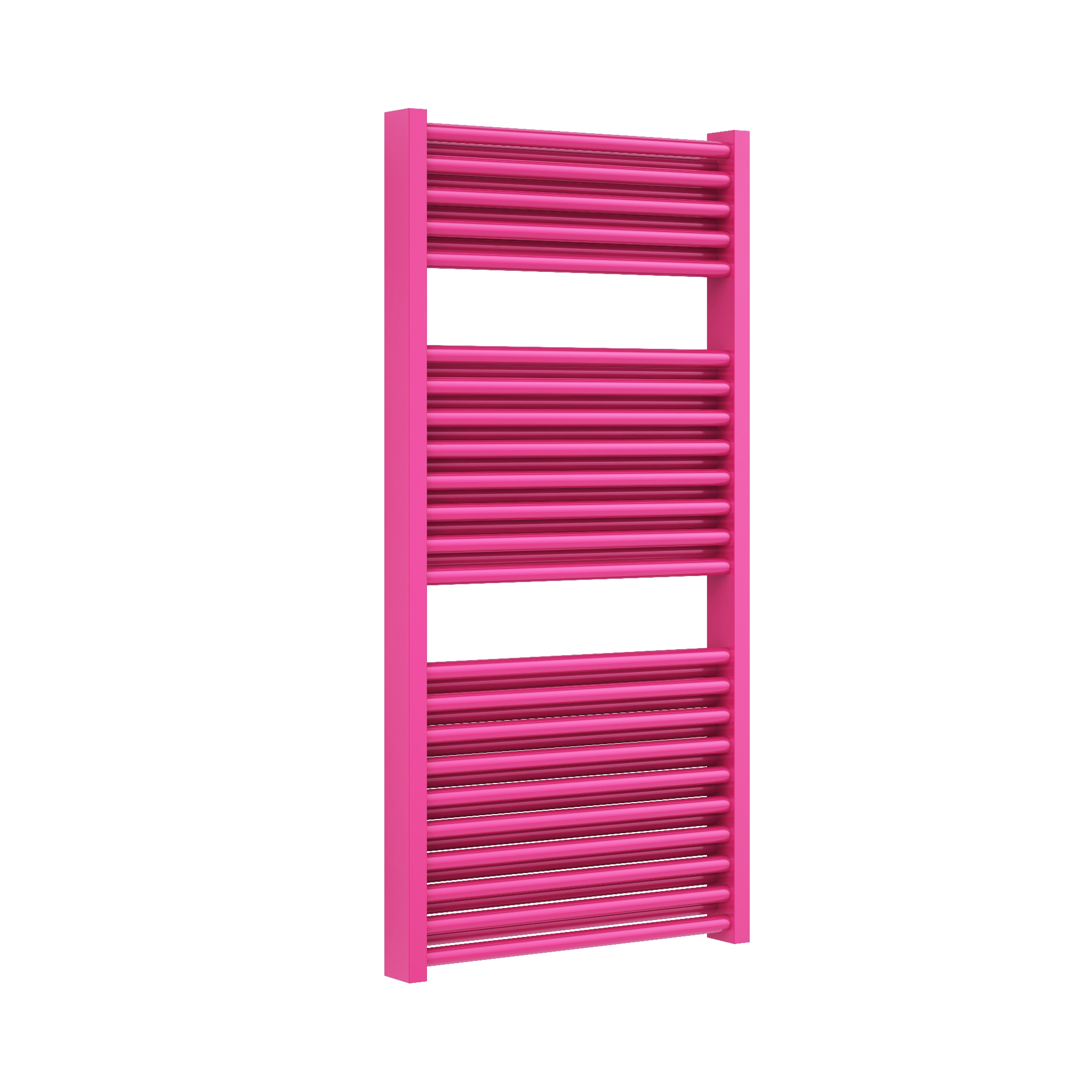 pink towel rail - central heatin towel rail in pink colour