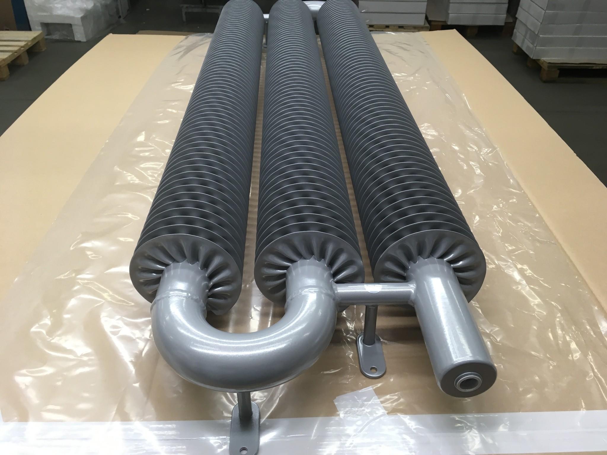 Tubes radiator in Silver Metallic Colour HOTHOT 64