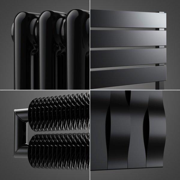 Schwarz matt Farbe RAL 9005