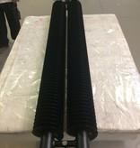 HOTHOT Heizkörper in der schwarz matt Farbe RAL 9005