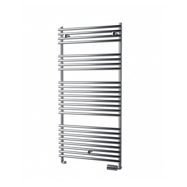 IMPERIAL BATH CHROME - Central heating towel radiator