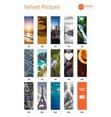 HOTHOT Velvet Picture - Radiator with photo