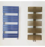 HOTHOT Radiator in pearl gold colour RAL 1036