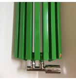 HOTHOT Heizkörper in der grüngelben Farbe RAL 6018