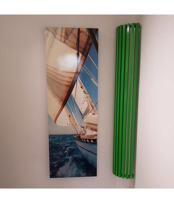 HOTHOT Radiator in Yellow green Colour RAL 6018
