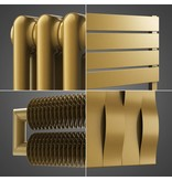 HOTHOT Radiators in brown beige colour RAL 1011