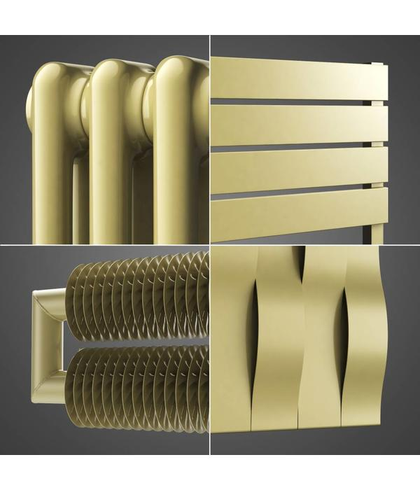 HOTHOT Radiators in Light Ivory colour RAL 1015