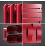 HOTHOT Designheizkörper in der RAL Farbe Rubinrot RAL 3003
