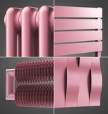 HOTHOT Radiator in Light Pink Colour RAL 3015