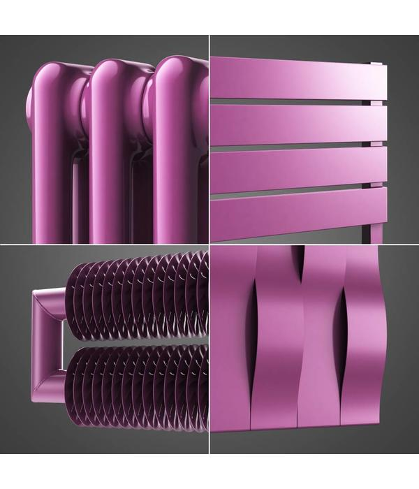 HOTHOT Radiator in Signal violet colour RAL 4008