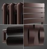 HOTHOT Radiateurs en couleur brun chocolat RAL 8017