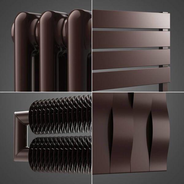 Schokoladenbraun Farbe RAL 8017