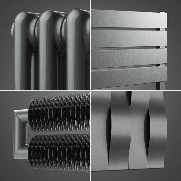 Silber-Metallic Farbe HOTHOT 64
