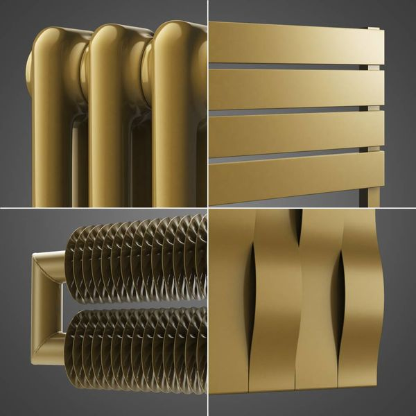 Gold Metallic Colour HOTHOT 48