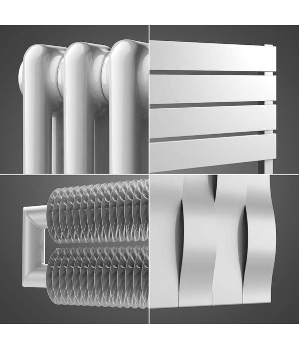 HOTHOT Radiator in Papyrus white Colour RAL 9018