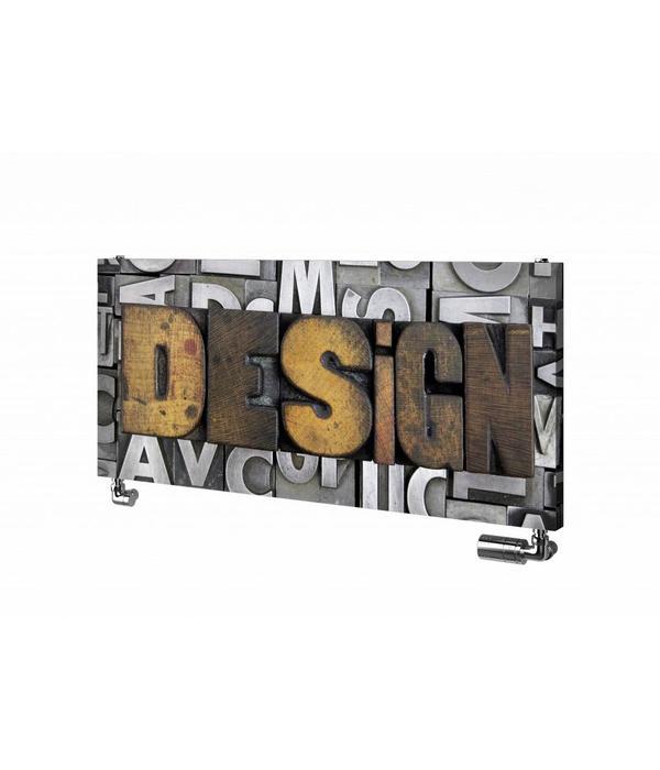HOTHOT Design FOTO - Horizontal radiator with photo